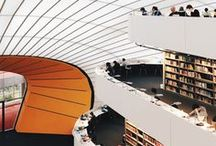 Library Wonders of the World / Extraordinary Library Design from around the globe