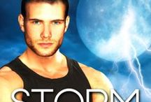 Storm Force, by Susannah Sandlin / A standalone paranormal romantic thriller with loose ties to the Penton Legacy series.