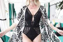 One Piece Swim Suits / Stylish one-piece swim suit styles that flatter every body type!