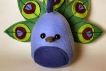 Felt Plushes / Cute little felt people or animals or anything