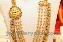 Gundla mala / gold beads necklace designs