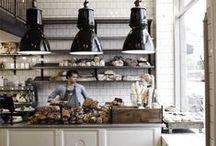 shops. rooms. cafés