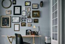"""Wall of frame"""" / koláže, nástěnné dekorace"""