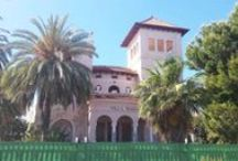 Villas Benicàssim / Las famosas Villas del Paseo Marítimo Pilar Coloma se construyeron a partir del s.XIX y fueron las elegantes viviendas de familias de renombre de la zona que residían en Benicàssim durante los periodos estivales.