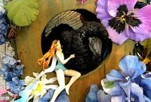 Faerie Gardens / The magic of nature: whether tiny environments in potted plants, or additions to outdoor gardens, faerie gardens tell a story about our connection with the natural world.