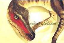 paddock 9 / Dinosaurs. Jurassic World. But mostly those raptors.