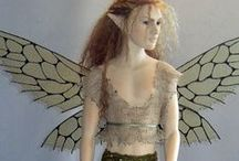 faerie dolls / Recycle those old Barbies, sculpt your own faerie. Here are some ideas...