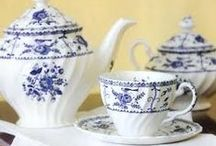Blue and White China / For the love of blue and white.