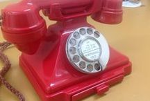 Vintage Telephones UK / Vintage Telephones and Antique Bakelite Telephones from the UK. Iconic pieces of British Engineering from a time when British was best :-) #vintage #telephone #antique #phones http://www.abdyantiques.co.uk