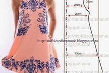 ruha / ruha szabásminták, leírásokkal, ötletek