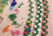 gyöngy / gyöngyből készült ékszerek leírásokkal, ötletek