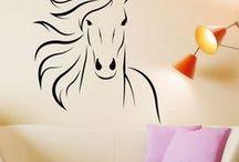lovak - sablon, rajz
