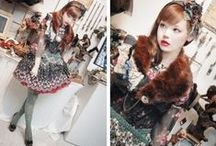 Fashion: Dolly / Antique & Vintage & Floral & Ethnic Fashion / by Rachel Claire