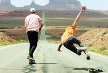 Skateboarding all over the world