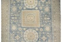 Vintage Khotan Rug Collection / Very quiet yet elegant Khotan rugs give a sophisticated vintage look to any home.