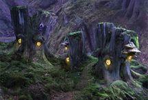 Fairies- Magical Fairy Houses & Gardens
