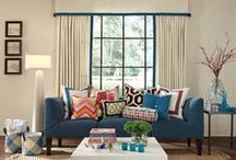 Window Treatments / A board dedicated to inspiring window treatments. We design custom window treatments for your home. Let's us know how we can help you create the window curtain that is right for living room, dining room, bedroom, kitchen, bathroom or office.