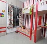 Kid's Bedroom Designs / Features interior spaces designed exclusively for kids!