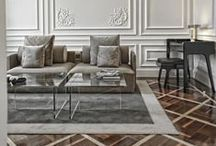 Lux Living Rooms / A collection of beautifully designed living spaces.
