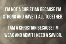 I'm a Christian ;D / I'm a Christian because I believe in Jesus and who he is and I confessed to that. I that's it. Now I just try to get a stronger relationship every day.