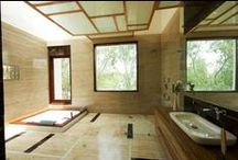 Modern Bathroom Design Ideas / Explore Photos of  modern bathroom designs and find ideas for remodeling your bathtub, wash basin and Shower enclosure etc.