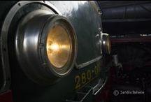 Mercadillo en el Museo del ferrocarril / Mercadillo mensual de segunda mano en el Museo del ferrocarril.