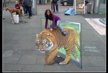 Optical Illusions & Cool Images