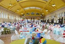 Union Depot Special Events / With four indoor and two outdoor venues, Union Depot provides the perfect setting for community events, galas, private receptions, company parties, concerts, fundraisers, expos and more!