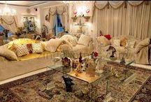 Shahnaz Husain / Shahnaz Husain's Greater Kailash based house photos. The Interiors reflect Luxurious look and feel.