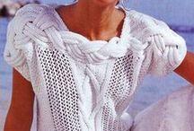 UNE À L'ENDROIT, UNE À L'ENVERS : chandails / De la laine, des aiguilles et beaucoup de passion.