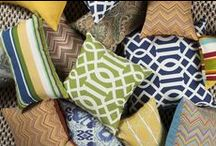 Pillows / We love Pillows and especially the ones from our vendors Surya. Throw pillows are such a great accent to furniture, colorful and comfy.  Let us help you find the right pillow for your home.