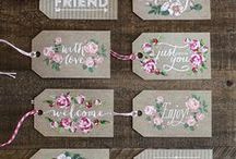 tags and packaging