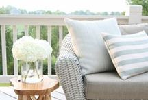 Outdoor Space & Patio Furniture / Outdoor space, patio furniture, backyard space, outdoor decor