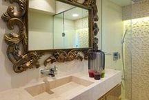 Bathroom Ideas / Bathroom decor ideas, bath room interiors