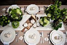 Der gedeckter Tisch durch die Jahreszeiten... / by ilona edler