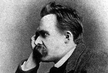 Friedrich Nietzsche / Philosopher / by CPK INSPIRATION