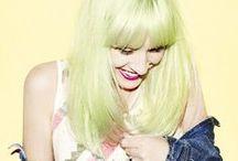 Hair- green