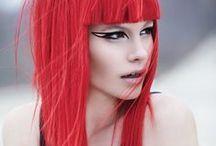 Hair- red