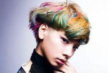 Hair- technicolour