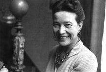 Simone de Beauvoir / Writer, Feminist / by CPK INSPIRATION