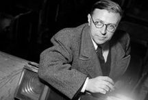 Jean Paul Sartre / Writer / by MY INSPIRATION