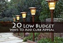 Curb Appeal / Ways to Make Your Home Look Inviting From the Outside