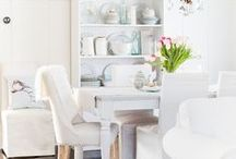 Dining Rooms / Dining Rooms can be traditionally formal or typically modern. Check out these pics for divine ideas.