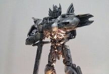 custom built painted optimus prime