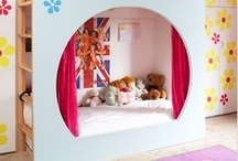Kids' Bedroom Design Ideas / Spark your imagination with these bedroom ideas for children.