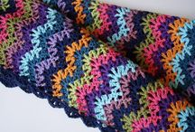 Crotchet scarves, gloves and others / Fun things to make