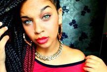 #Box Braids #Trenzas  & Senegalese Twists / <3