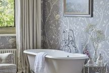 Bathroom Design Ideas / Wish you could unwind in one of these dreamy bathrooms? Take some inspiration for your own home.