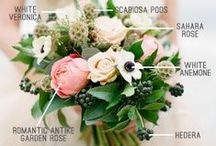 Flowers / bouquets and boutonnieres. photos by various authors