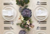 Table Appointments / the art of table serving. photos by various authors